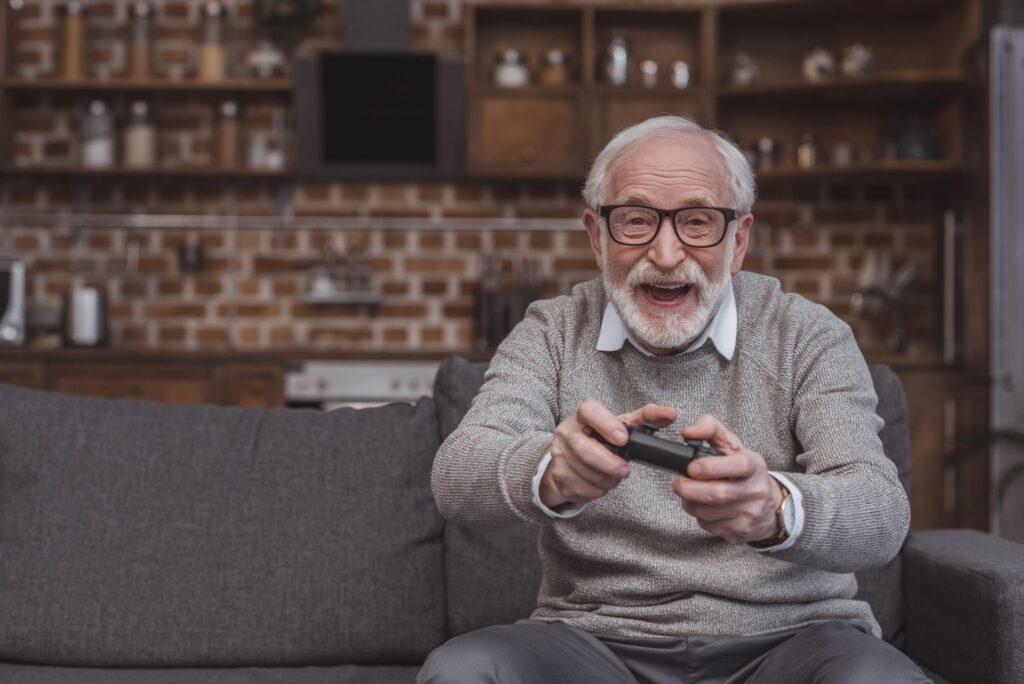 Senior Gamer